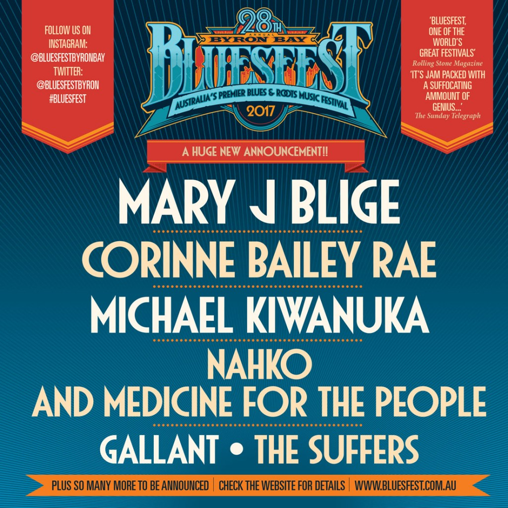 byron bay bluesfest 2017 corinne bailey rae. Black Bedroom Furniture Sets. Home Design Ideas